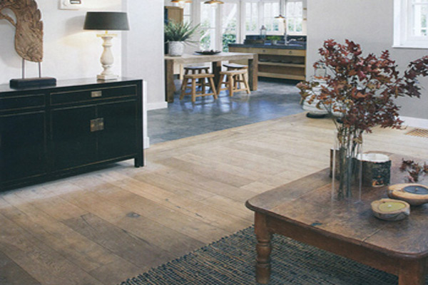 Rustieke kwaliteit massieve eiken houten vloer