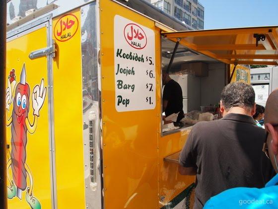 Seoul Taipei Food Truck Menu