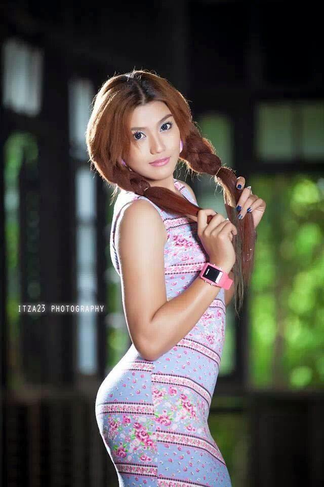 Myanmar Beautiful Actress Ei Chaw Po - Burmese Actress and Model Girls