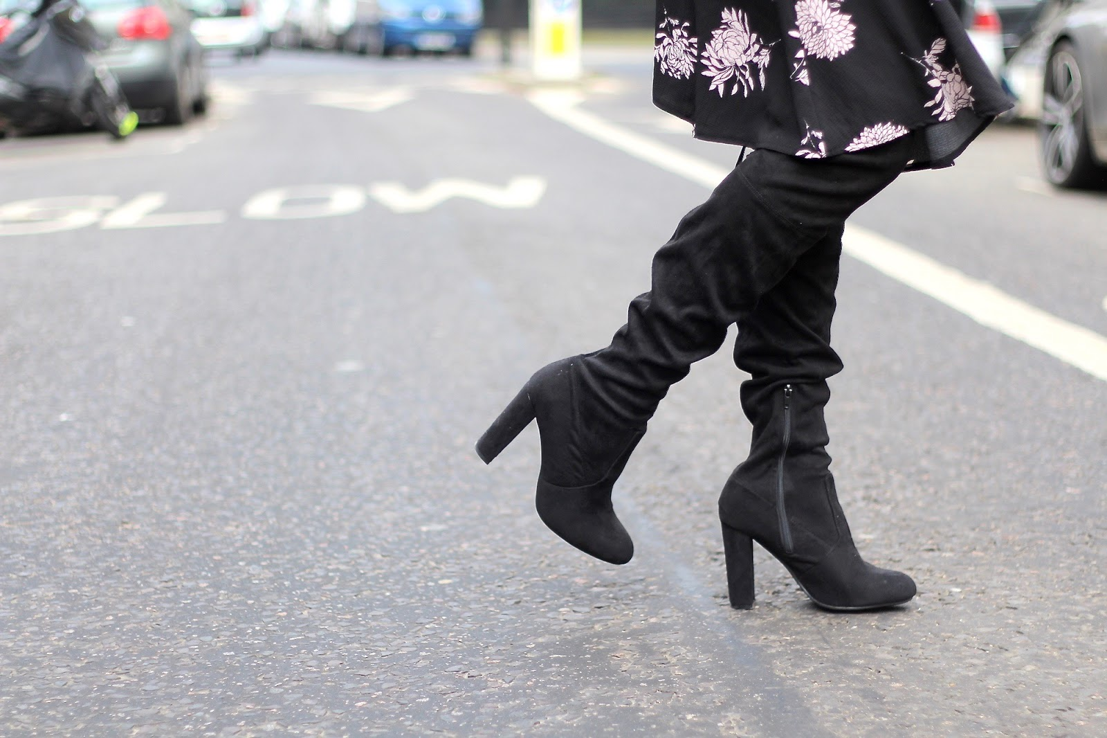 public desire knee high boots