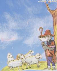 fabula el lobo disfrazado de pastor