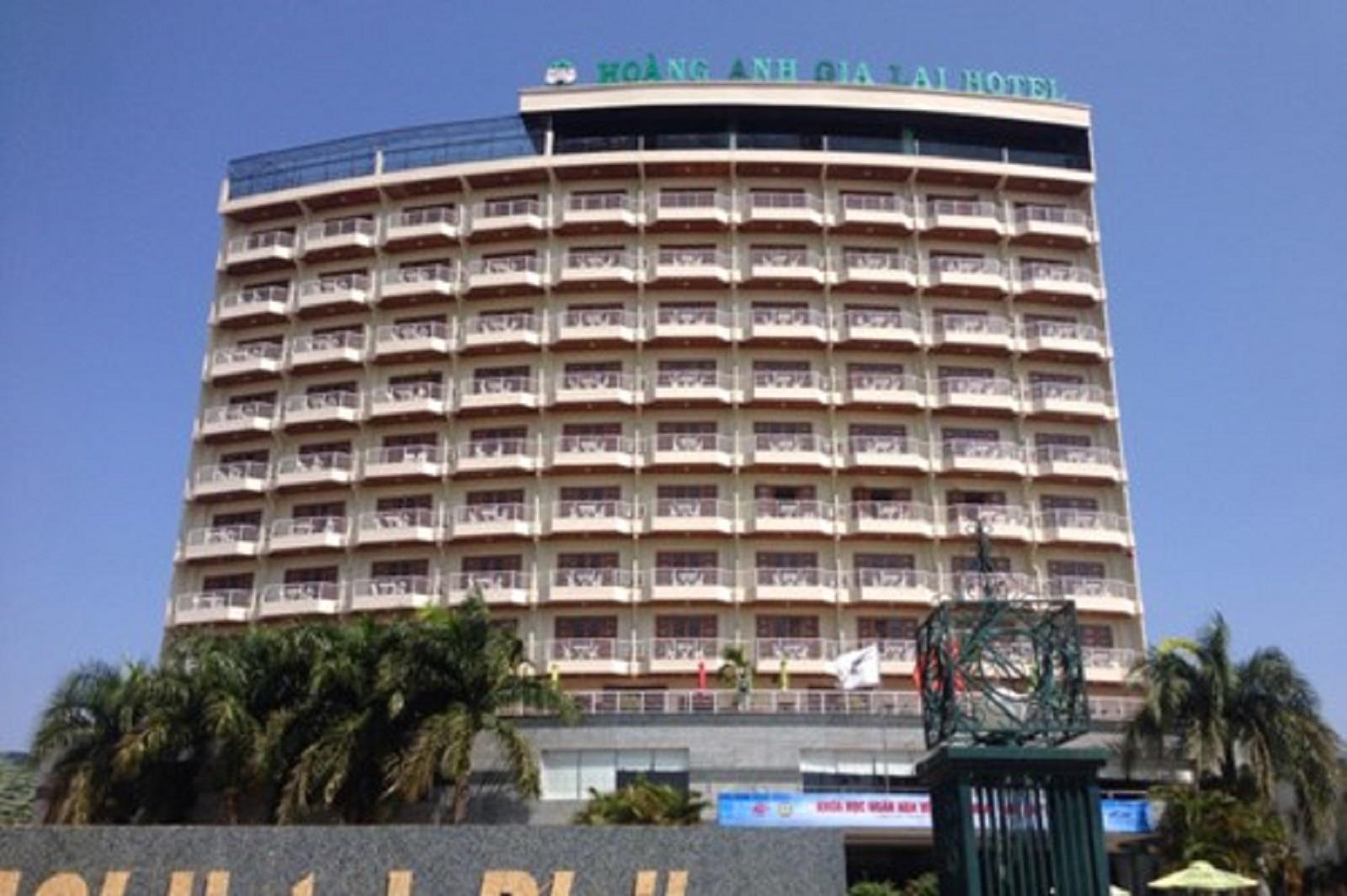 Gia Lai: Nhảy từ tầng 12 khách sạn Hoàng Anh Gia Lai tự tử