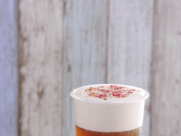 Hui Lau Shan Coconut Milk Rose Vanilla BloCha : New Beverage Launched!