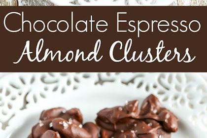 CHOCOLATE ESPRESSO ALMOND CLUSTERS