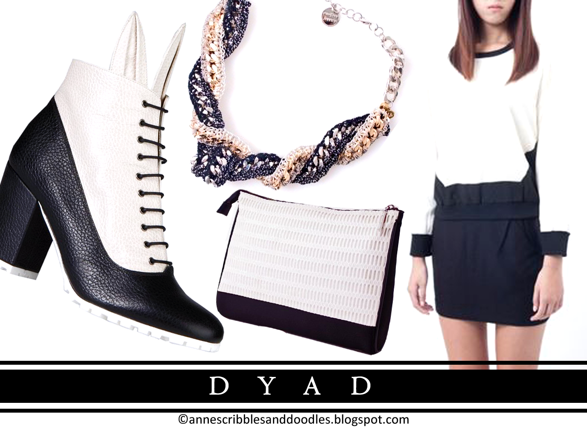 Black and White Fashion - Dyad (Cross the Line)