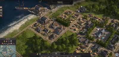 Anno 1800, Harbor, Buildings