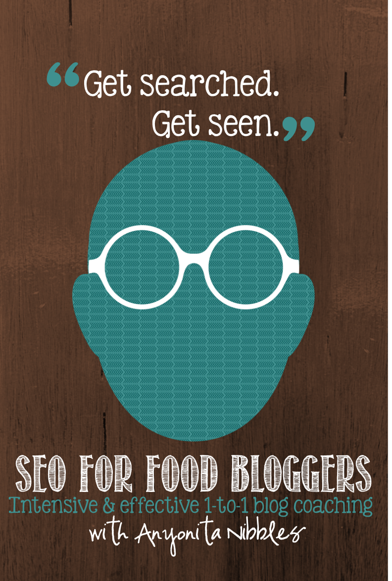 SEO for Food Bloggers Blog Coaching Session from www.anyonita-nibbles.co.uk Get searched. Get seen.