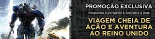 Promoção UCI Cinemas 2017 Filme Transfomers O Último Cavaleiro