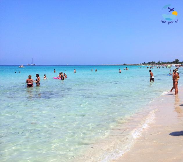 Relax na Praia de San Vito lo Capo