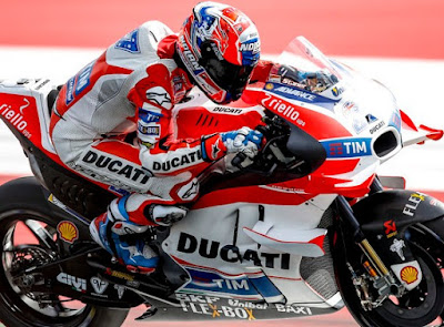 Stoner Lebih Cepat dari Rossi di Uji Coba GP Austria