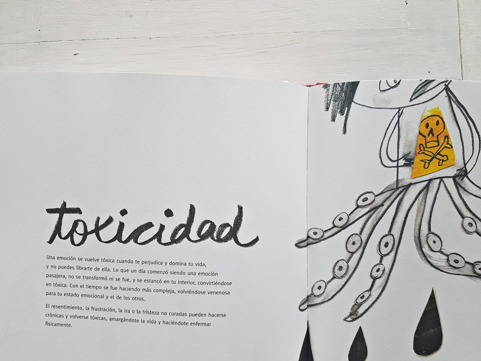 album ilustrado anna llenas sobre gestion emocional