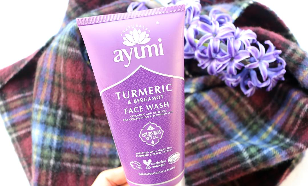 Ayumi Naturals Turmeric & Bergamot Face Wash