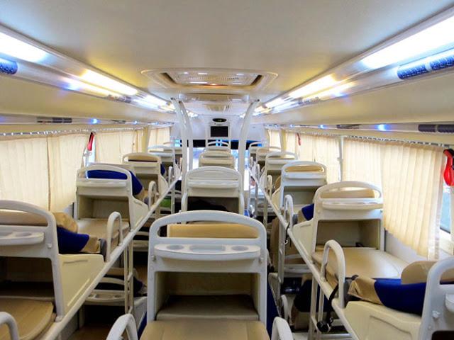 Xe khách chất lượng cao tại Phú Yên - Xe khách chất lượng cao Phúc Thuận Thảo đáp ứng đầy đủ tiện nghi cho quý khách tên mọi tuyến đường