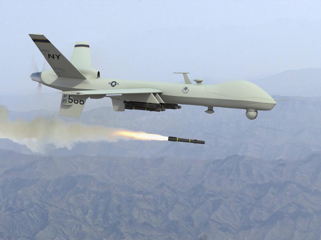 USAF AIR COMBAT COMMAND-UAV Unmanned Aerial Vehicles DOD ORIGINAL PATCH