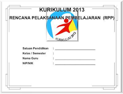 Contoh RPP KURIKULUM 2013 Kelas 4 SD
