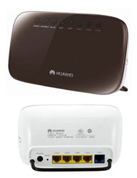 MANUAL MOBILE: Routers of Huawei HG231f and Huawei E355 3G