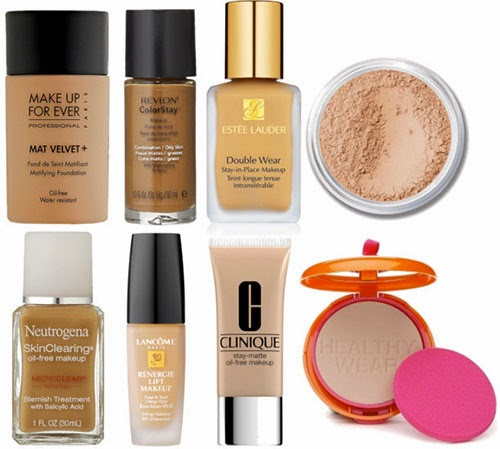 Makeup for acne
