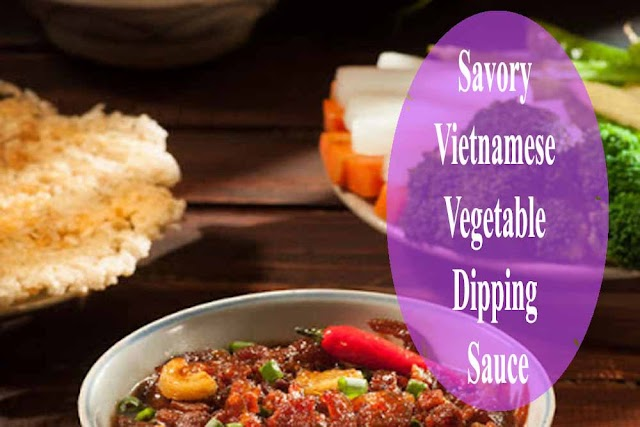 Savory Vietnamese Vegetable Dipping Sauce