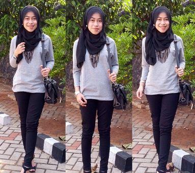 12 Style Hijab Modern Terbaru Untuk Remaja Tutorial