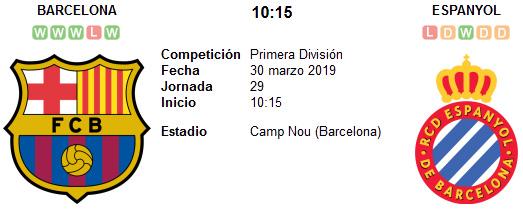 Barcelona vs Espanyol en VIVO