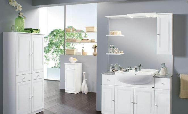 Main image of mobiletto da bagno, 3 scomparti,. Arredo A Modo Mio L Arredo Bagno Di Mondo Convenienza