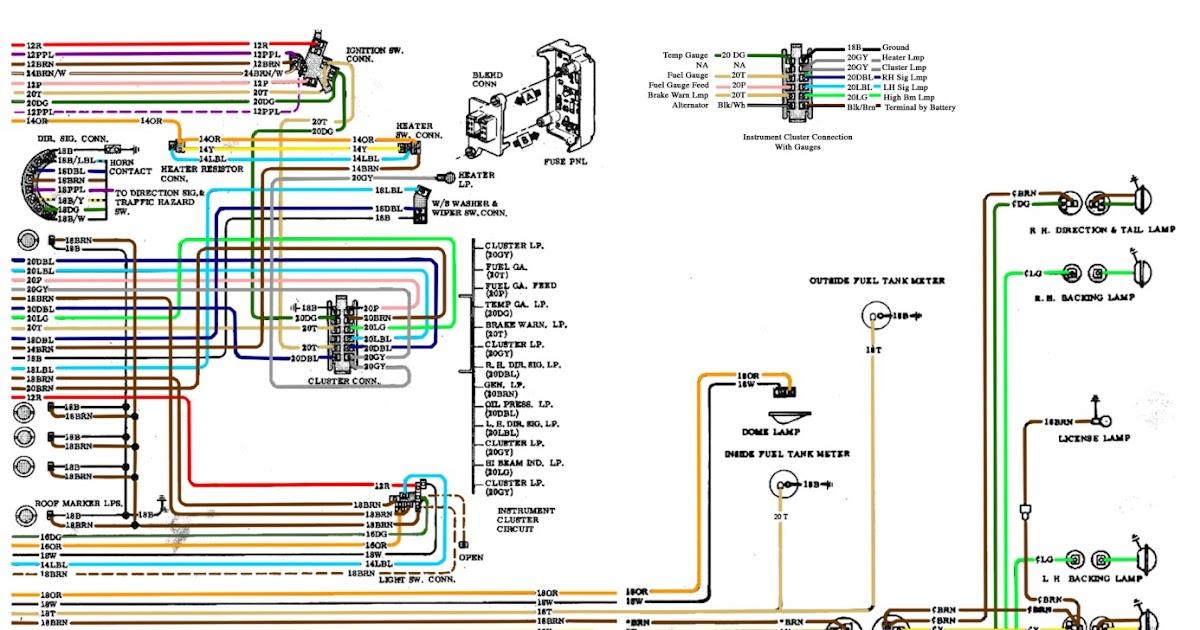 Free Auto Wiring Diagram: 19671972 Chevrolet Truck