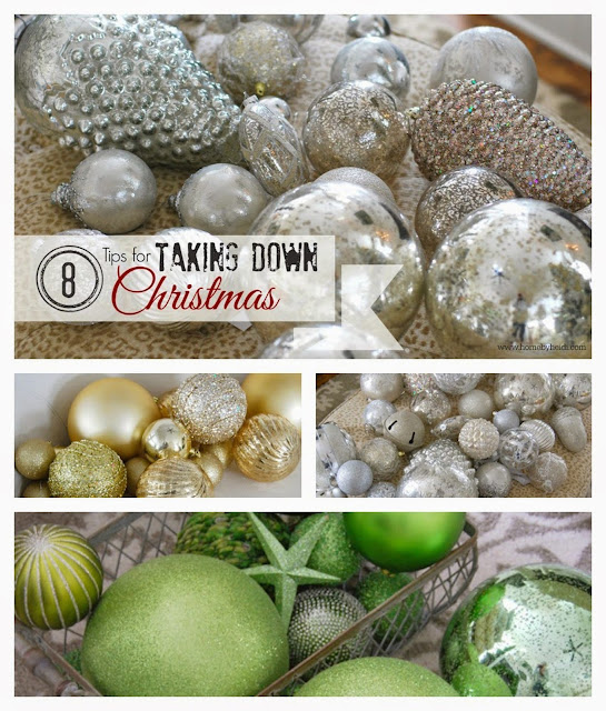 Home By Heidi: 8 Tips For Taking Down Christmas Decor