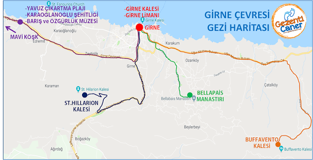 Girne-Gezi-Haritasi-Rotasi