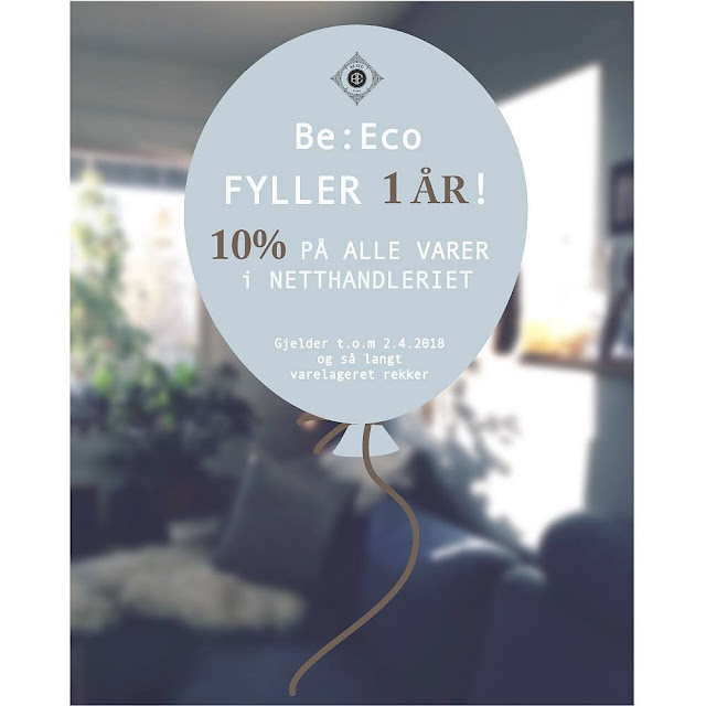 Be:Eco fylte 1 år den 2. april 2018