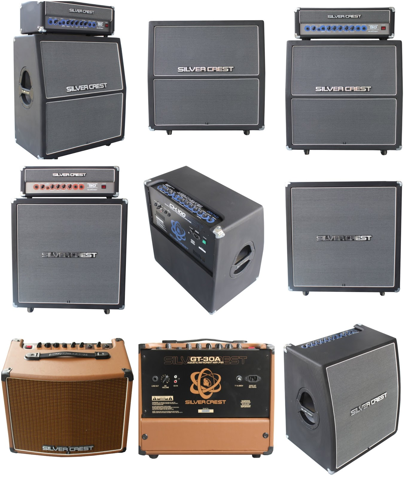 silver crest amplifier original from Indonesia