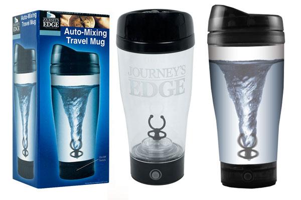 Auto-Mixing Travel Mug