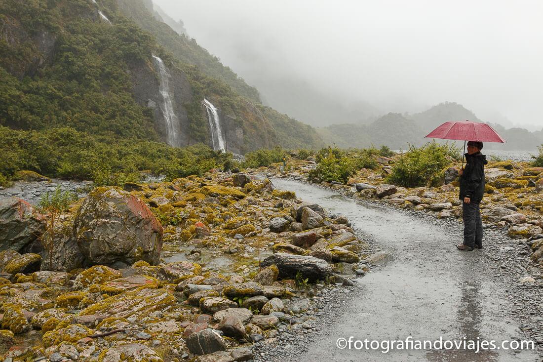Caminata hasta el glaciar Franz Josef
