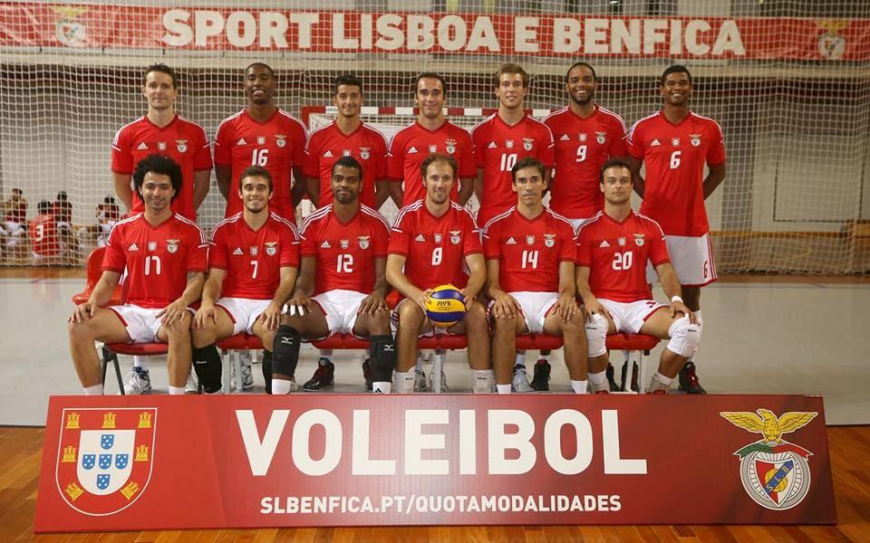 456f4f9b67 Benfica Eclético  Voleibol SL Benfica - 2014 2015