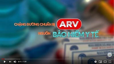 Video clip sự kiện những bệnh nhân đầu tiện nhận thuốc ARV từ nguồn BHYT