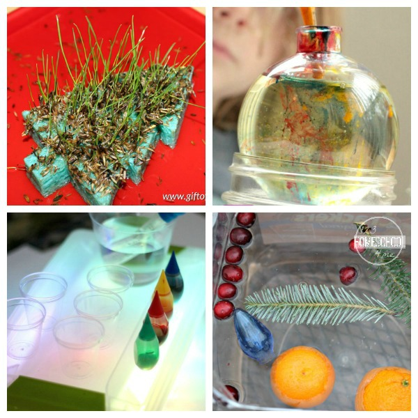 Christmas Science Experiments for Kids in December
