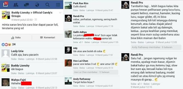 Polisi Temukan Grup Rahasia Para Pedofil di Facebook, Isi Grupnya Mengerikan