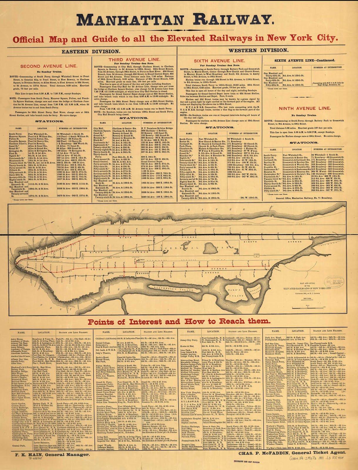 Mta Subway Map 101 2001.The Launch Box 2013