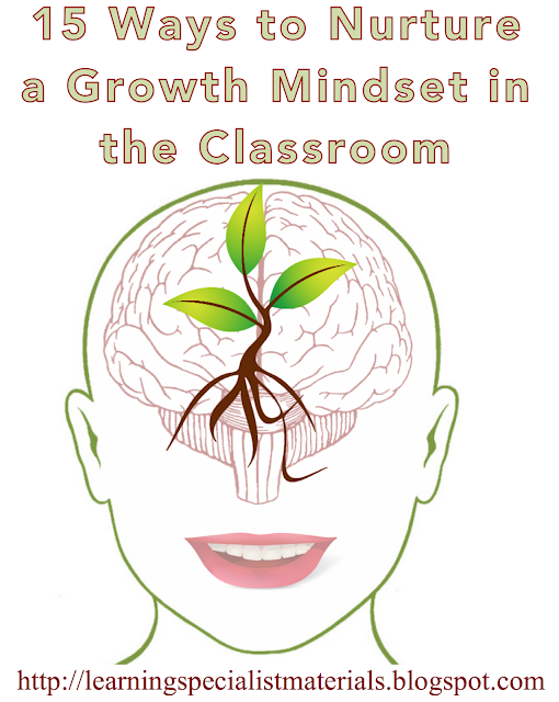 Create a growth mindset
