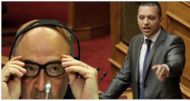 Χαμός στην βουλή – Ο Κασιδιάρης «επιτίθεται» στον Μοσκοβισί που ακούει άναυδος!