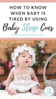 How to Know When Baby is Tired by Using Sleep Cues | Baby sleep | #babysleep