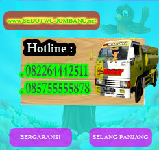 Nomer Telfon Sedot WC Jombang Murah