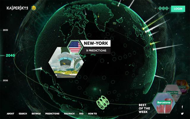 Kaspersky Lab, Earth 2050 (Dünya 2050) adlı projenin hayata geçtiğini duyurdu