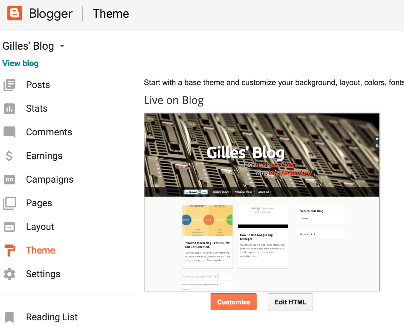 Blogger - How to backup all posts, the template, and all
