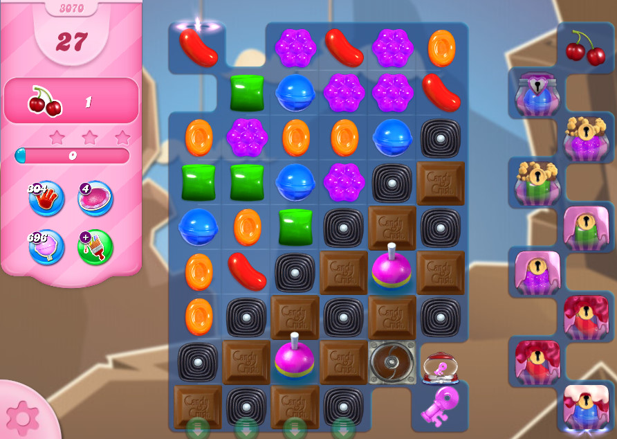Candy Crush Saga level 3070