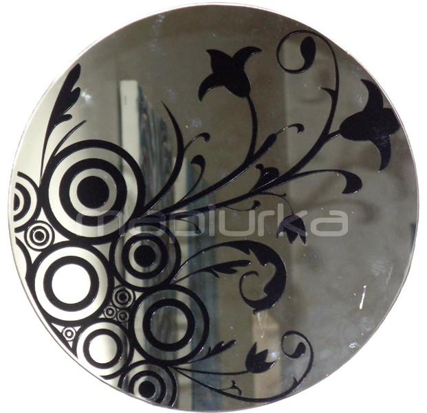 Mapiurka adhesivos decorativos ba espejos mpk for Espejos circulares decorativos