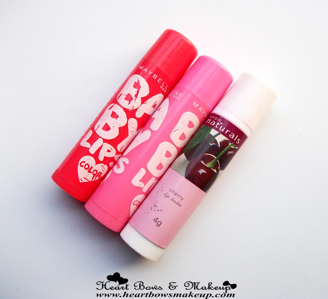 Best Tinted Lip Balms-Maybelline Baby Lips Avon Cherry