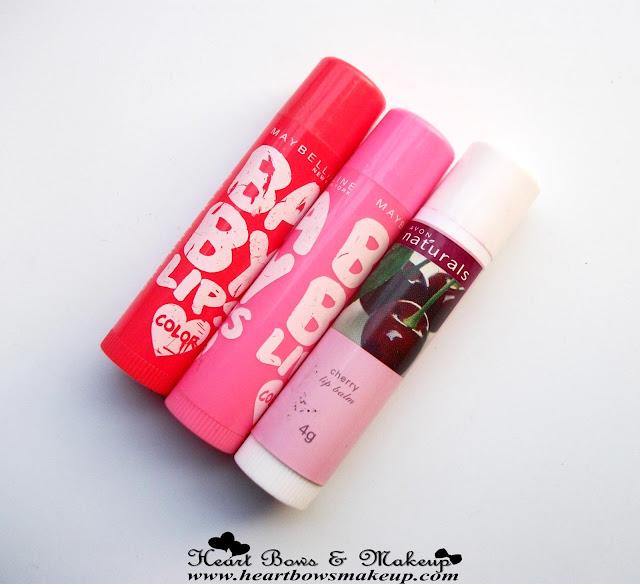 Best Tinted Lip Balms-Maybelline Baby Lips Avon Cherry