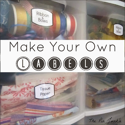 make your own labels