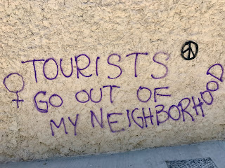 Barcelona anti-tourism
