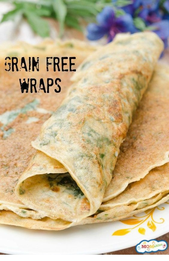 Grain-Free Lunch Box Wraps